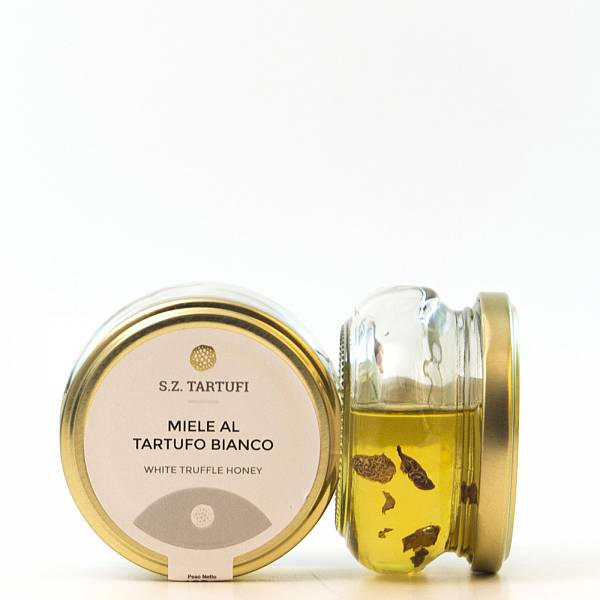 S.Z. Tartufi Food preparation based on acacia honey with White truffle 130 gr. 4,58 oz.