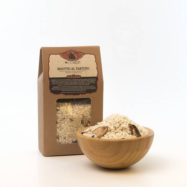 Carnaroli Rice with truffle and porcini 250 gr. 8,9 oz.